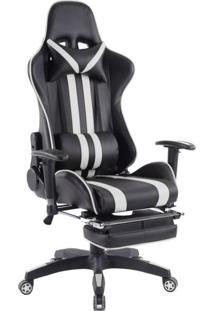 Cadeira Gamer Legends Preta E Branca