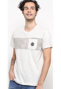 Camiseta Element Paint Recorte Masculina - Masculino