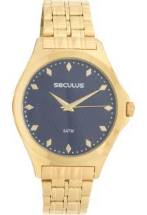 Relógio Seculus 23632Lpsvds1 Dourado