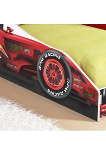 Mini Cama Carro Fã³Rmula F96 - Vermelho - Rpm Mã³Veis - Incolor - Dafiti