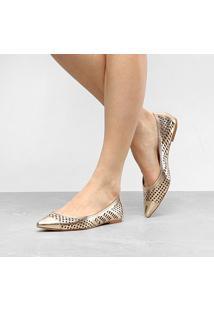 Sapatilha Shoestock Lasercut Feminina - Feminino