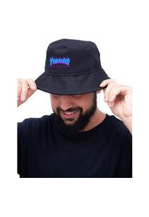 Chapéu Bucket Hat Personalizado Thrasher Lançamento - Preto