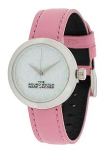 Marc Jacobs Watches Relógio The Round - Rosa