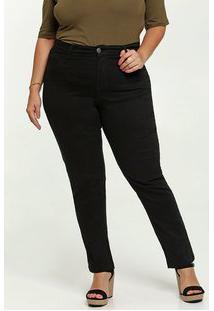 Calça Feminina Sarja Skinny Plus Size Marisa