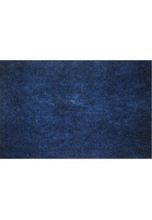 Passadeira Home Agulhado- Azul Marinho- 150X60Cmkapazi