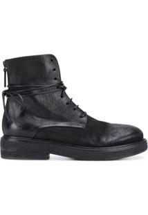 Marsèll Ankle Boot Com Efeito Destroyed - Preto