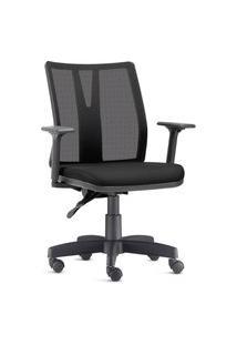 Cadeira Ergonômica Prolabore. Linha Performa. Ajuste Lombar. Braços Ajustáveis. Encosto Tela. Tecido. Prolabore Produtos Ergonômicos
