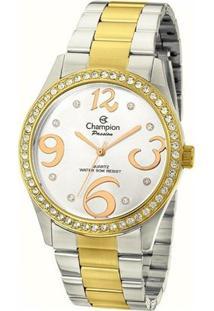 Relógio Champion Feminino Passion - Cn29669D - Feminino-Prata