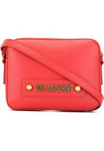 Love Moschino Bolsa Transversal Grande - Rosa