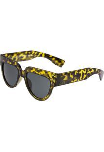 Óculos De Sol Amarelo Preto feminino   Gostei e agora  6e83a5522d