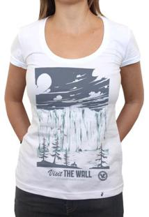 Visit The Wall - Camiseta Clássica Feminina