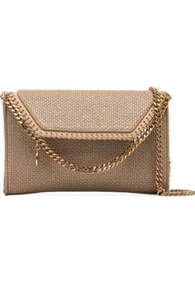 Stella Mccartney Falabella Metallic Crossbody Bag - Metálico