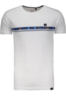 Camiseta Hd Slim Fit - Masculino-Branco
