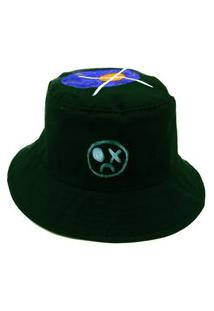 Chapeu Bucket Prorider Dark Face Verde Com Desenhos - Dkfbucket3