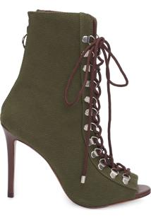 Bota Feminina Jungle Army - Verde