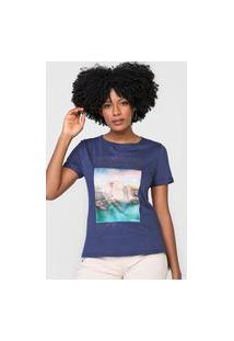 Camiseta Dimy Stronger Fortress Azul-Marinho