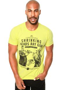 Camiseta Colcci Unbelievable Amarela