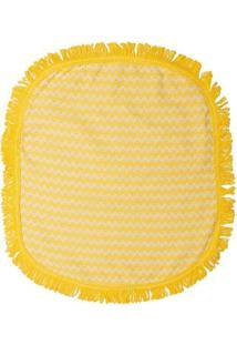Jogo Para Banheiro Campestre- Amarelo & Bege- 3Pçs