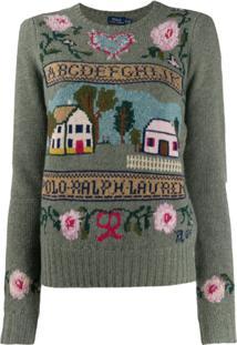 Polo Ralph Lauren Suéter De Tricô Loden - Verde