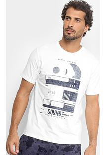 Camiseta Burn Sound Stereo Masculina - Masculino