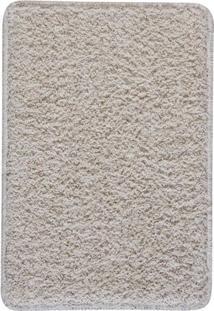 Tapete Para Banheiro- Bege Claro- 60X45Cm- Oasisoasis