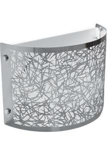 Arandela Taschibra Brilliance 1X E 27 – Alumínio Polido