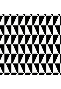 Papel De Parede Geométrico Preto (950X52)