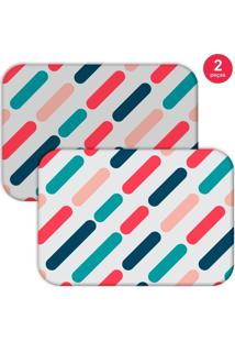 Jogo Americano Love Decor Geométrico Color Colorido - Kanui