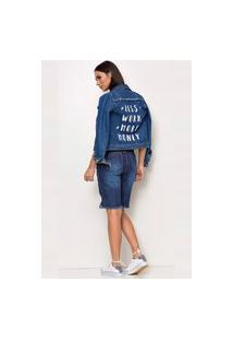 Jaqueta Jeans Levo Shop Britney Spears Azul