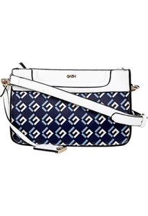 Bolsa Gash Sabrina Sato Mini Bag Monograma Feminina - Feminino-Azul