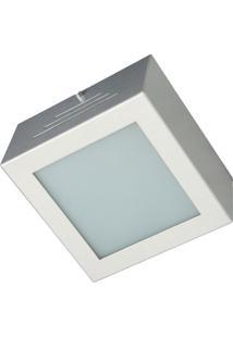 Plafons Escovado Vidro Branco 4,L60W