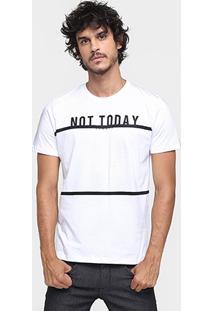 Camiseta Sommer Not Today - Masculino-Branco