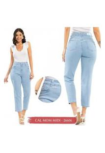 Calça Jeans Mom Midi Biotipo