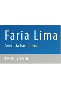 Jogo Americano Nerderia Ruas Faria Lima Azul - Azul - Dafiti
