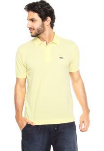Camisa Polo Logo Amarela