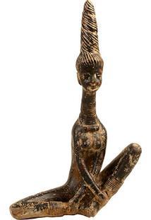 Escultura Buddha Meditação