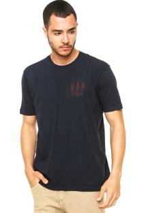 Camiseta Vila Romana Logo Azul-Marinho