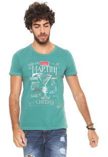 Camiseta Sergio K Martini Verde