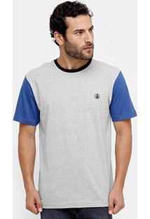 Camiseta Volcom Esp Circle Stone Masculina - Masculino