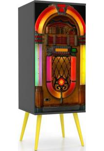 Armario Slim 1 Porta Jukebox 1,20 Mt (Alt) - 32425 - Sun House