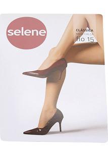 Meia Calça Selene Clássica Fio 15 Feminina - Feminino-Chumbo
