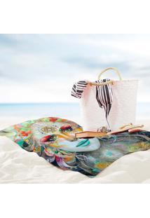 Toalha De Praia / Banho Gaia Color