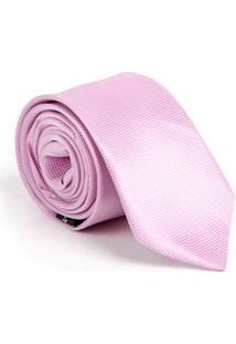Gravata Sandro Moscoloni Gr01 Rosa Listrado