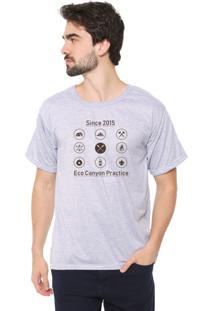 Camiseta Eco Canyon Practice Cinza