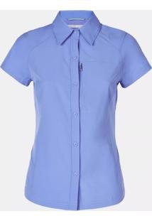 Camisa Silver Ridge Short Sleeve Mc Fem Al7122-548 - Columbia