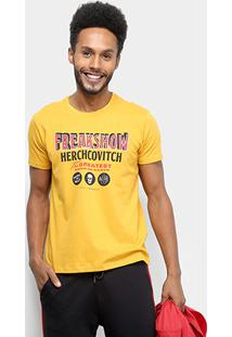 Camiseta Ellus Cotton Fine Ah Freakshow Classic Masculina - Masculino