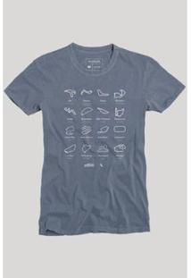 Camiseta Circuitos Reserva Masculina - Masculino-Marinho