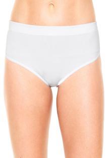 Calcinha Modeladora Love Secret Biquíni Soft Shape Branca