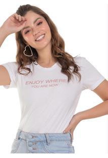 Blusa Feminina Enjoy Branco