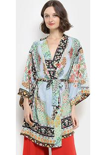 Kimono Farm Tepih Feminino - Feminino